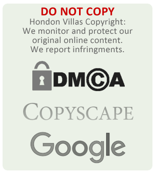 Do not copy any Hondon Villas copyright material.